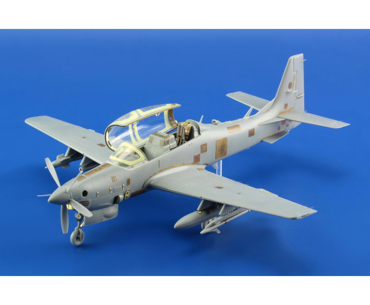 Sets de detalhamento para o A-29 Super Tucano 1/48