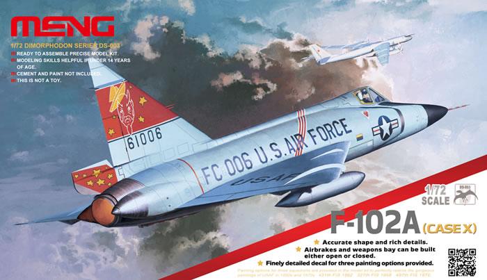 Convair F-102A Delta Dagger, Meng, 1/72