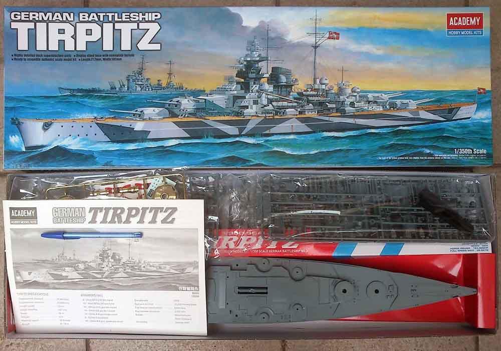 Academy DKM Tirpitz, 1/350