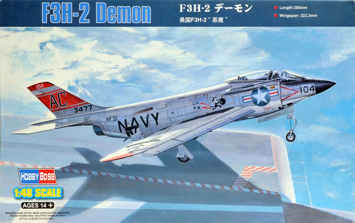 McDonnell F3H2 Demon, Hobby Boss, 1/48