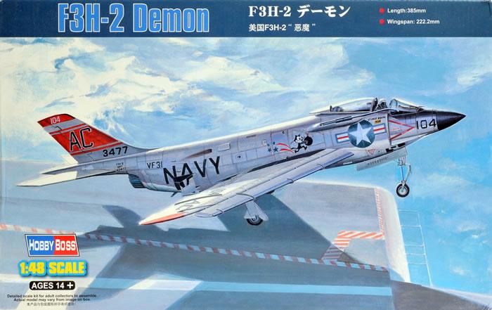 McDonnell F3H2 Demon, Hobby Boss, 1/48