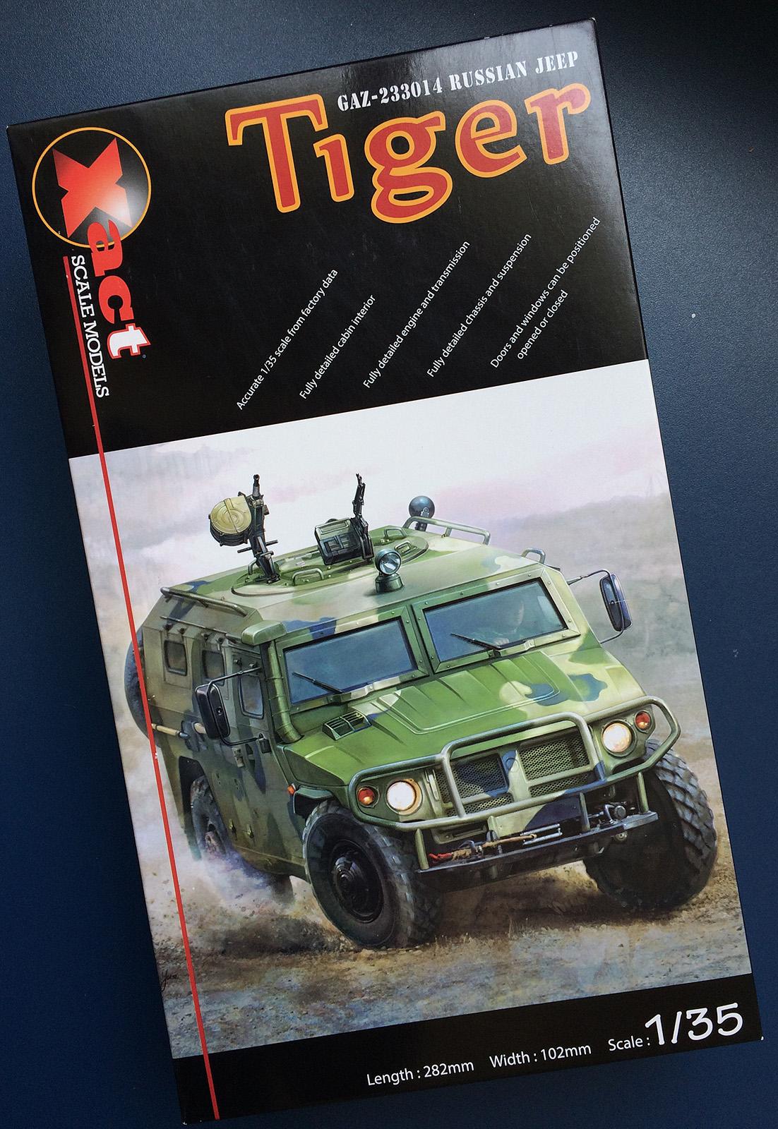 Tiger, o veículo utilitário russo.