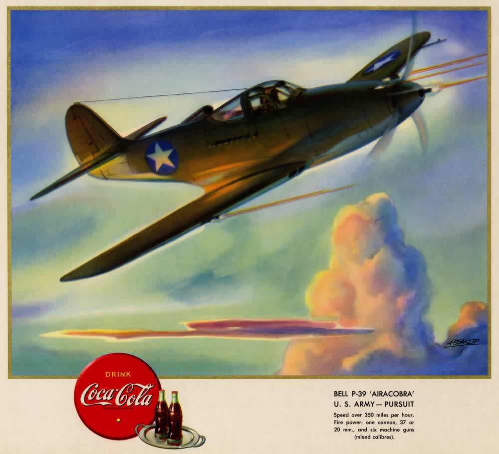 Bell-P-39-Airacobra-U.S.-Army-Pursuit