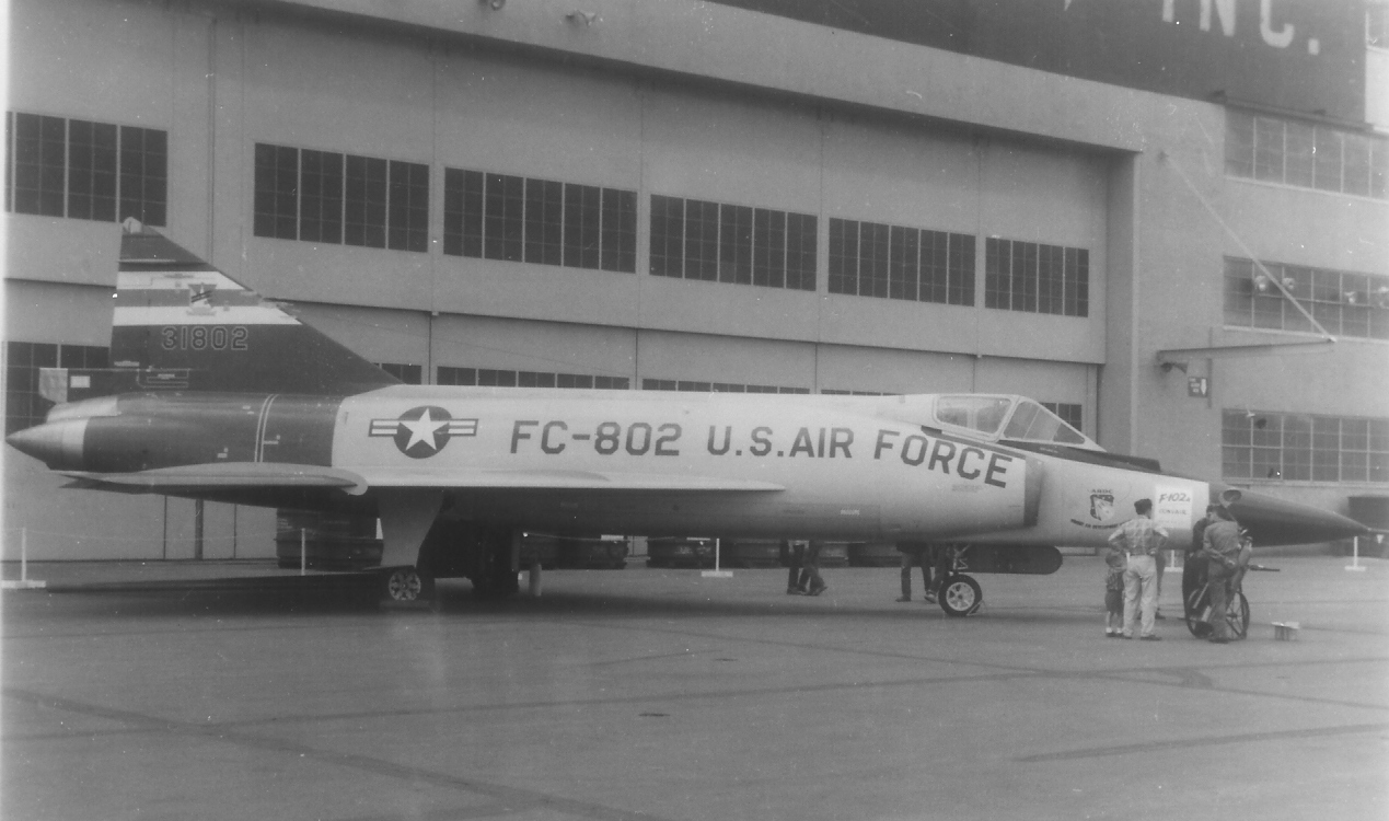F-102A Short Tail 4