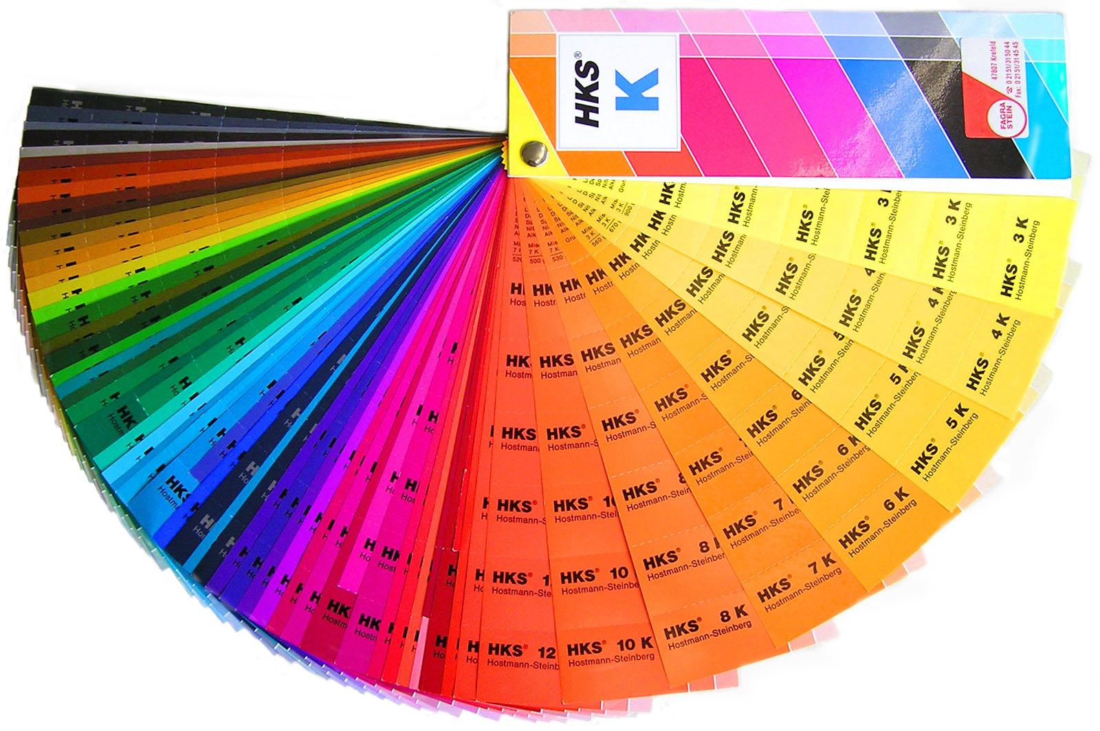 Tabela de conversão de cores para tintas de vários fabricantes