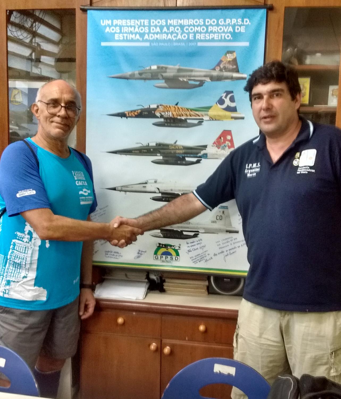 GPPSD estreita laços de amizade com a Asociación Plastimodelista del Oeste na Argentina