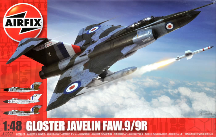 Gloster Javelin, Airfix, 1/48