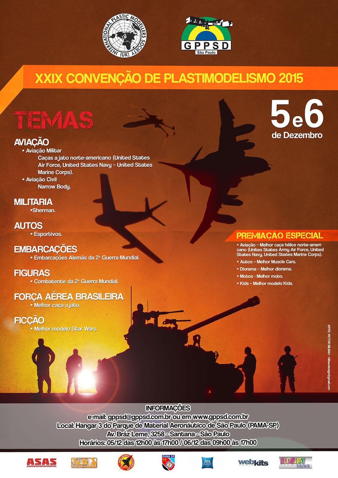 29ª Convenção de Plastimodelismo do GPPSD – 2015