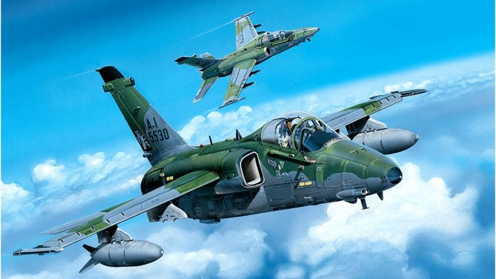 A-1A Ground Attack Aircraft – HobbyBoss 1/48 – Por Guilherme Castro