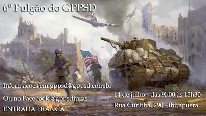 6º Pulgão do GPPSD – Participe!